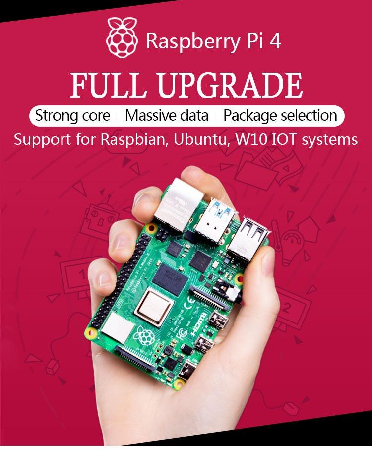 Raspberry Pi 4 Model B Development Board Kit 2GB nepal